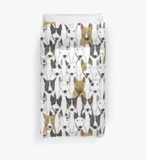 Funda nórdica Patrón divertido bull terriers