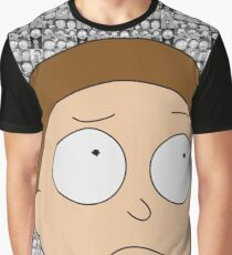 The Many Faces of Morty Smith Graphic T-Shirt