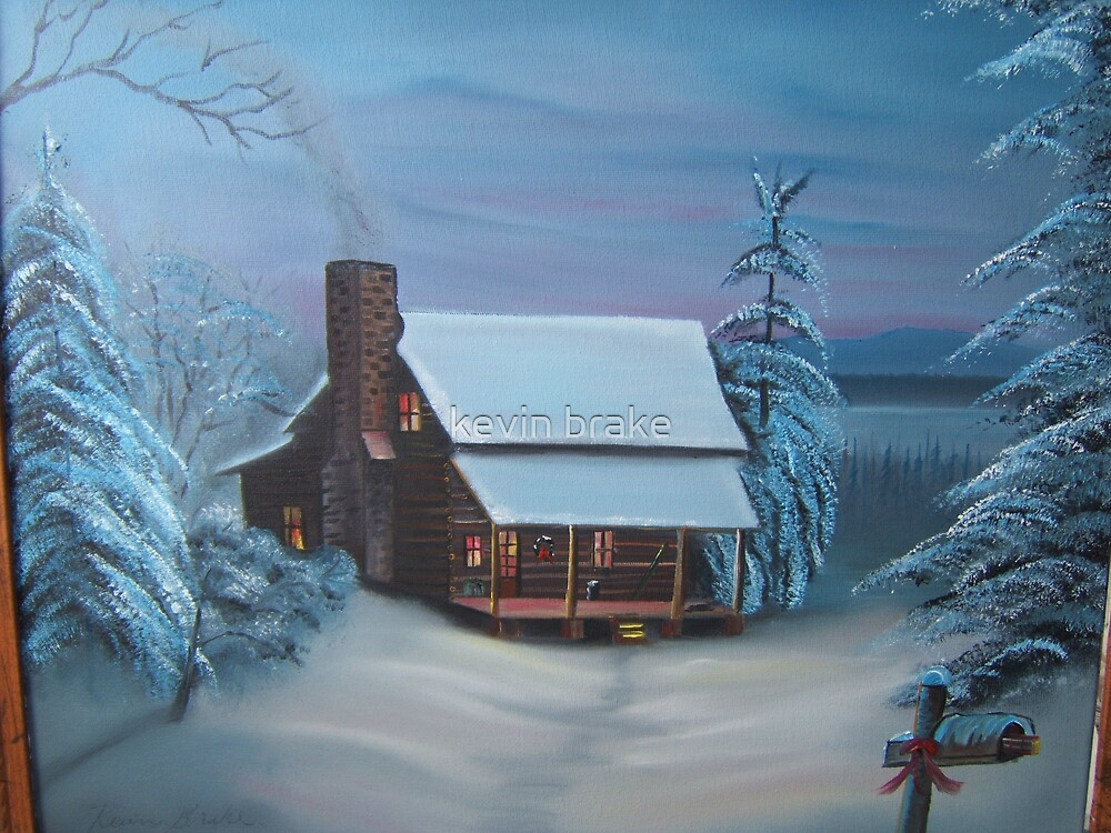 ''christmas is comeing'' by kevin brake