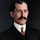 Orville Wright, famous aviator, inventor of the aeroplane by Mads Madsen