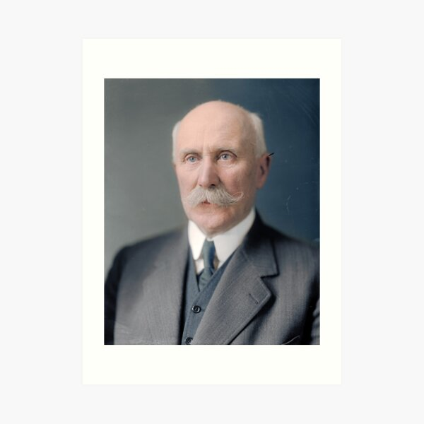 Marshall Henri P. Petain, Chief of State of Vichy-France, and a hero during the first World War Art Print