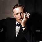Ian Fleming, author of the James Bond novels, and a Naval Intelligence Officer during WWII by Mads Madsen