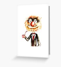 Suave Animal The Muppets  Greeting Card