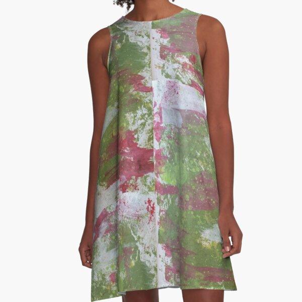 Bubble Splash A-Line Dress
