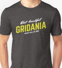Visit Beautiful Gridania Unisex T-Shirt
