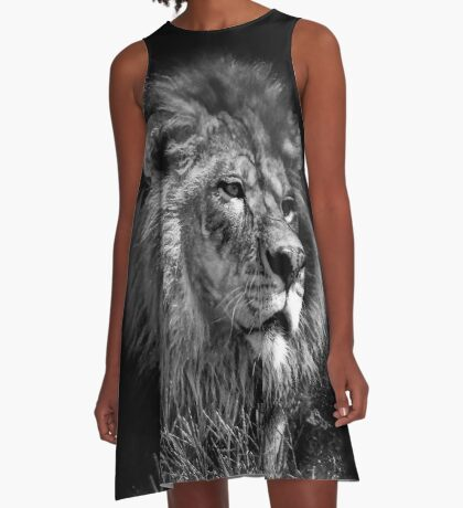 Proud Young Lion A-Line Dress
