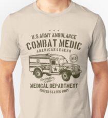 U.S. Army Ambulance Combat Medic American Legend Medical Department T-Shirt