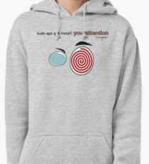 Your attention, please (Colv) Pullover Hoodie