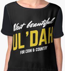 Visit Beautiful Ul'dah Women's Chiffon Top