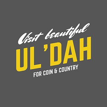 Visit Beautiful Ul'dah by snitts