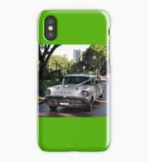 1957 Chevrolet Limousine, Hyde Park, Sydney, Australia 2012 iPhone Case/Skin