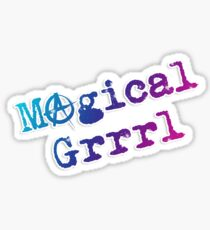 Magical GRRRRRRL - V2 Sticker