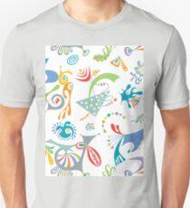 high level white Unisex T-Shirt