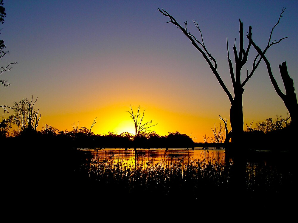 Sunset over Murray by Shemj