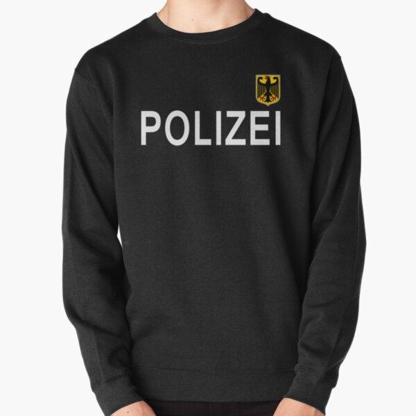 policía alemana, polizei Sudadera sin capucha