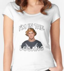 I'M IN THE LOGANG! (ARE YOU?!) Women's Fitted Scoop T-Shirt