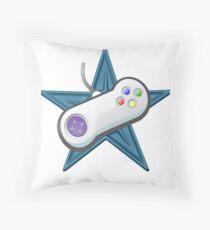 Cartoon controller Throw Pillow