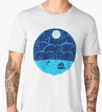 Cats landscape Men's Premium T-Shirt