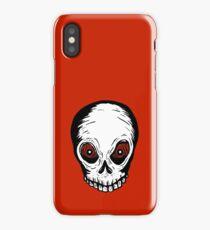 Evil Skull iPhone Case