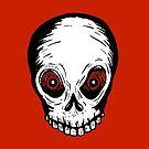 Evil Skull by Lee Grace