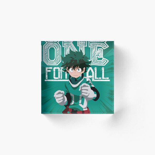 One for all Acrylic Block