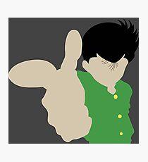 Yusuke Inspired Anime Shirt Photographic Print