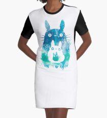 Forest Spirits  Graphic T-Shirt Dress