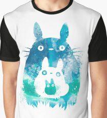 My Neighbor Totoro Watercolor  Graphic T-Shirt