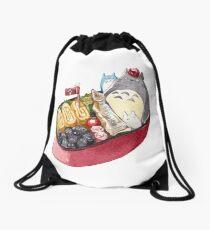 My Neighbor Totoro Bento Box  Drawstring Bag