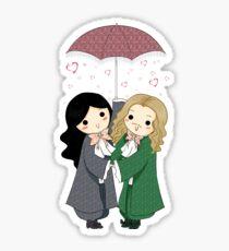 MonChevy - Rain of Hearts Sticker