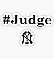 New York Judge Sticker