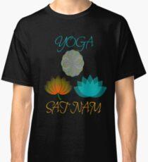 YOGA Sat nam kundalini meditation zen Classic T-Shirt