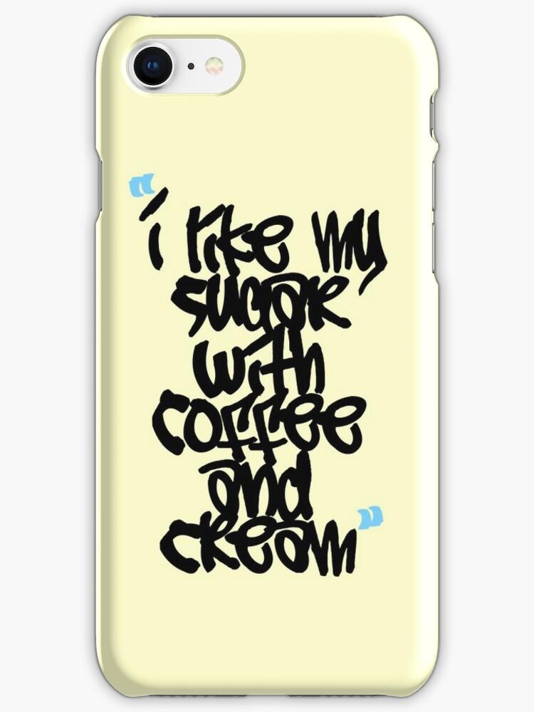 I like my sugar with coffee and cream by Mistakatt