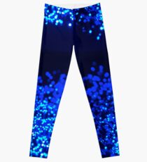 Fiber Optic Blue Leggings