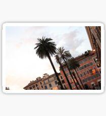 Piazza di Spagna Sticker