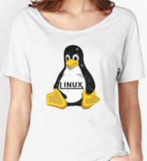 Tux Linux Women's Relaxed Fit T-Shirt