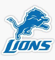 Motown Lions Sticker