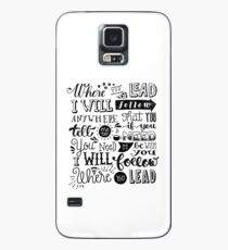 where you lead {gilmore girls} Case/Skin for Samsung Galaxy