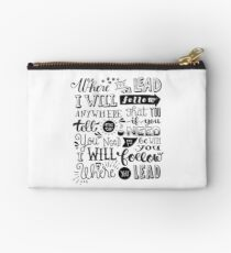 where you lead {gilmore girls} Studio Pouch