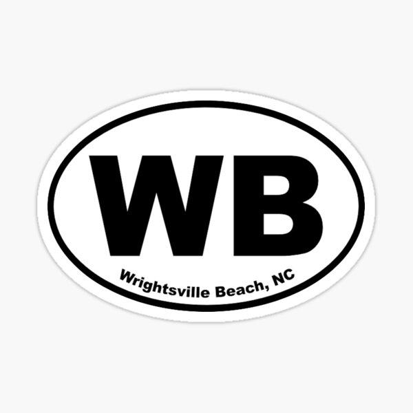 Wrightsville Beach, NC Sticker