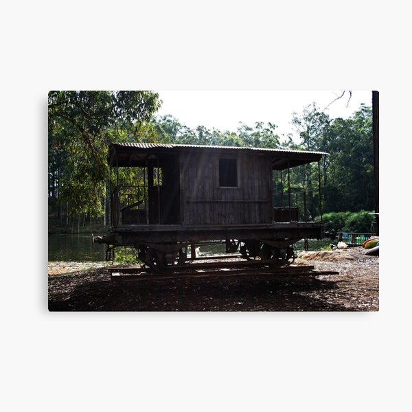 Old Train Carriage Canvas Print