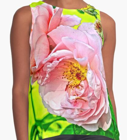 Pretty in pink Sleeveless Top