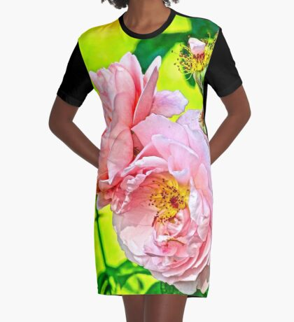Pretty in pink Graphic T-Shirt Dress