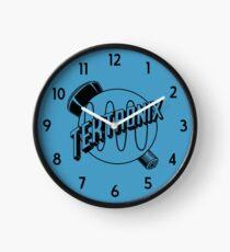 Vintage Tektronix Logo - Black Clock