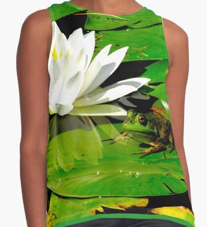 Basking in the reflection Sleeveless Top