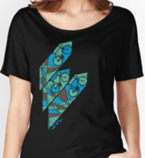 Abstract Bicycle T Shirt Women's Relaxed Fit T-Shirt