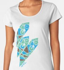 Abstract Bicycle T Shirt Women's Premium T-Shirt