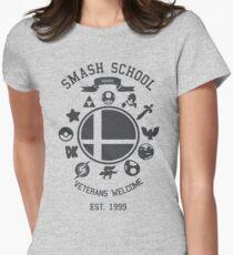 Smash School - Smash Veteran Women's Fitted T-Shirt