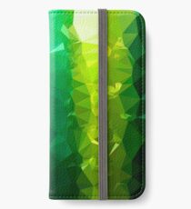 Green Flares - Crystallized Art Effect iPhone Wallet