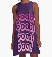 Goat! Goat! Goat! Goat! A-Line Dress